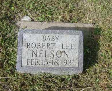 NELSON, ROBERT LEE - Lincoln County, South Dakota | ROBERT LEE NELSON - South Dakota Gravestone Photos