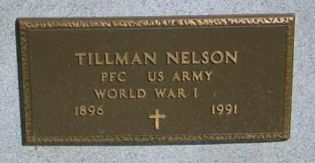 NELSON, TILLMAN - Lincoln County, South Dakota   TILLMAN NELSON - South Dakota Gravestone Photos