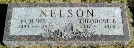 NELSON, PAULINE J. - Lincoln County, South Dakota | PAULINE J. NELSON - South Dakota Gravestone Photos