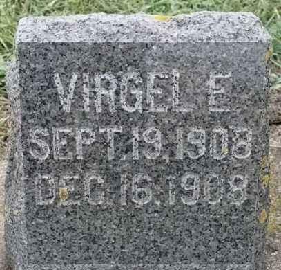 NELSON, VIRGEL E - Lincoln County, South Dakota | VIRGEL E NELSON - South Dakota Gravestone Photos