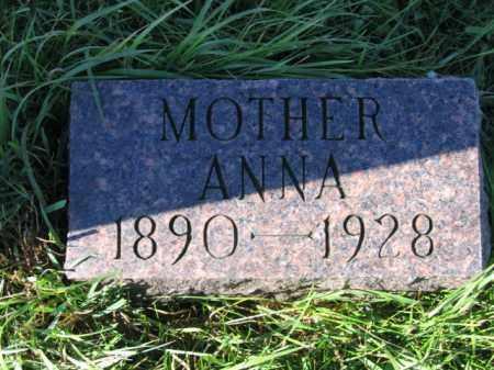 NESS, ANNA A - Lincoln County, South Dakota | ANNA A NESS - South Dakota Gravestone Photos