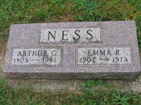 NESS, EMMA R - Lincoln County, South Dakota | EMMA R NESS - South Dakota Gravestone Photos
