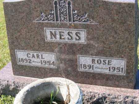 NESS, CARL - Lincoln County, South Dakota | CARL NESS - South Dakota Gravestone Photos
