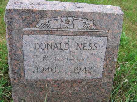 NESS, DONALD D - Lincoln County, South Dakota | DONALD D NESS - South Dakota Gravestone Photos