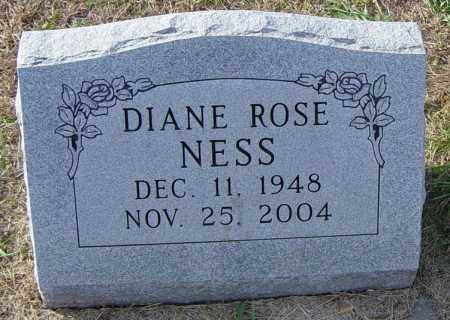 NESS, DIANE ROSE - Lincoln County, South Dakota | DIANE ROSE NESS - South Dakota Gravestone Photos