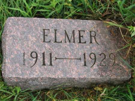 NESS, ELMER - Lincoln County, South Dakota | ELMER NESS - South Dakota Gravestone Photos
