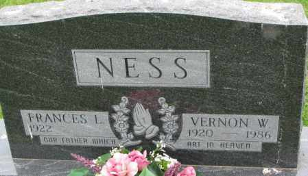 NESS, VERNON W. - Lincoln County, South Dakota | VERNON W. NESS - South Dakota Gravestone Photos