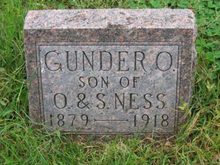 NESS, GUNDER O - Lincoln County, South Dakota   GUNDER O NESS - South Dakota Gravestone Photos