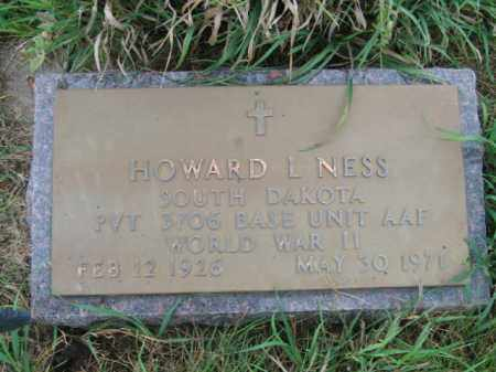 NESS, HOWARD LINCOLN - Lincoln County, South Dakota | HOWARD LINCOLN NESS - South Dakota Gravestone Photos
