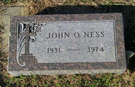 NESS, JOHN O. - Lincoln County, South Dakota | JOHN O. NESS - South Dakota Gravestone Photos