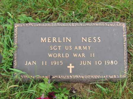 NESS, MERLIN - Lincoln County, South Dakota   MERLIN NESS - South Dakota Gravestone Photos