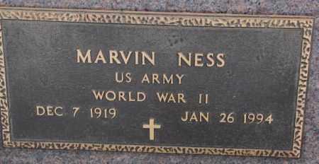 NESS, MARVIN (WW II) - Lincoln County, South Dakota | MARVIN (WW II) NESS - South Dakota Gravestone Photos