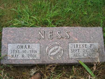 NESS, OMAR - Lincoln County, South Dakota | OMAR NESS - South Dakota Gravestone Photos