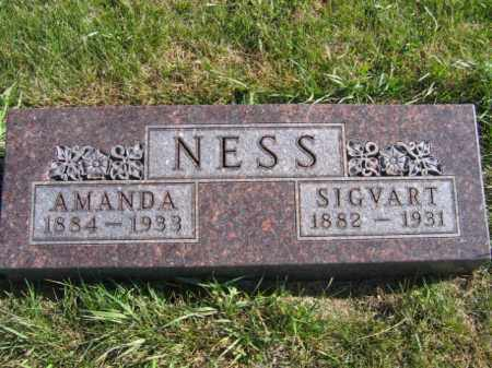 NESS, SIGVART - Lincoln County, South Dakota | SIGVART NESS - South Dakota Gravestone Photos