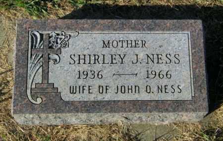 NESS, SHIRLEY J. - Lincoln County, South Dakota   SHIRLEY J. NESS - South Dakota Gravestone Photos