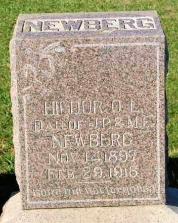 NEWBERG, HILDUR O.L. - Lincoln County, South Dakota | HILDUR O.L. NEWBERG - South Dakota Gravestone Photos