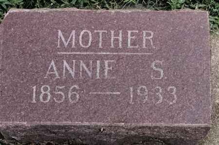 NORMAN, ANNIE S - Lincoln County, South Dakota   ANNIE S NORMAN - South Dakota Gravestone Photos