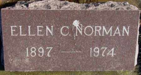 NORMAN, ELLEN C. - Lincoln County, South Dakota | ELLEN C. NORMAN - South Dakota Gravestone Photos