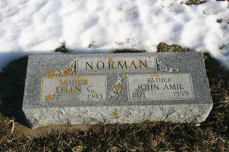 NORMAN, JOHN AMIL - Lincoln County, South Dakota | JOHN AMIL NORMAN - South Dakota Gravestone Photos