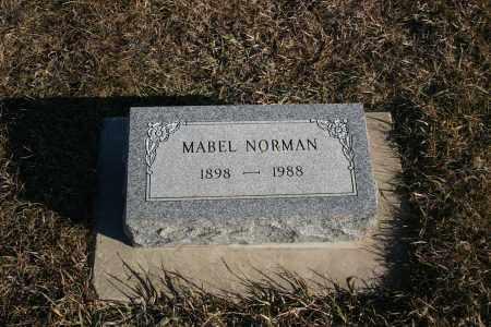 NORMAN, MABEL - Lincoln County, South Dakota | MABEL NORMAN - South Dakota Gravestone Photos