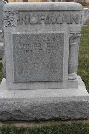 NORMAN, PETER JOHN - Lincoln County, South Dakota | PETER JOHN NORMAN - South Dakota Gravestone Photos