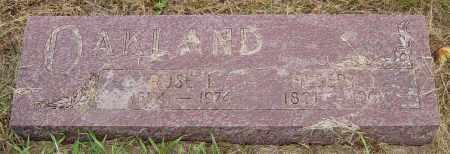 OAKLAND, ROSE L - Lincoln County, South Dakota | ROSE L OAKLAND - South Dakota Gravestone Photos