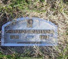OAKLAND, MASKAO - Lincoln County, South Dakota | MASKAO OAKLAND - South Dakota Gravestone Photos