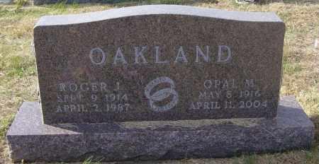 OAKLAND, OPAL M - Lincoln County, South Dakota   OPAL M OAKLAND - South Dakota Gravestone Photos