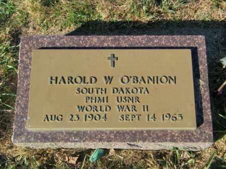 O'BANION, HAROLD W. - Lincoln County, South Dakota | HAROLD W. O'BANION - South Dakota Gravestone Photos