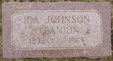 O'BANION, IDA - Lincoln County, South Dakota | IDA O'BANION - South Dakota Gravestone Photos