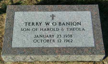 O'BANION, TERRY W. - Lincoln County, South Dakota   TERRY W. O'BANION - South Dakota Gravestone Photos