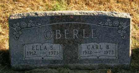 OBERLE, ELLA S. - Lincoln County, South Dakota | ELLA S. OBERLE - South Dakota Gravestone Photos