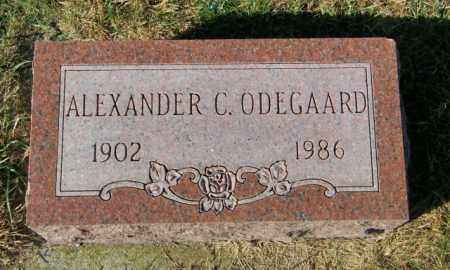 ODEGAARD, ALEXANDER C. - Lincoln County, South Dakota | ALEXANDER C. ODEGAARD - South Dakota Gravestone Photos