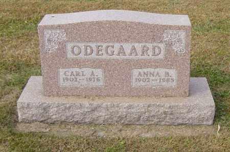 ODEGAARD, CARL A - Lincoln County, South Dakota | CARL A ODEGAARD - South Dakota Gravestone Photos