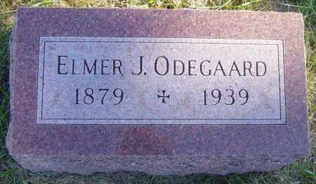 ODEGAARD, ELMER J - Lincoln County, South Dakota | ELMER J ODEGAARD - South Dakota Gravestone Photos
