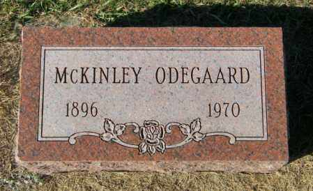 ODEGAARD, MCKINLEY - Lincoln County, South Dakota | MCKINLEY ODEGAARD - South Dakota Gravestone Photos