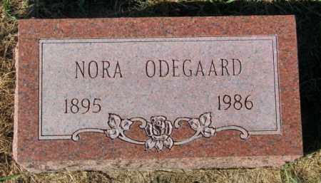 ODEGAARD, NORA - Lincoln County, South Dakota | NORA ODEGAARD - South Dakota Gravestone Photos