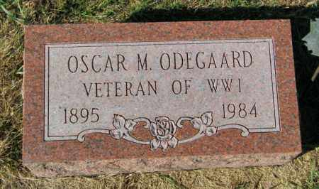 ODEGAARD, OSCAR M. - Lincoln County, South Dakota   OSCAR M. ODEGAARD - South Dakota Gravestone Photos
