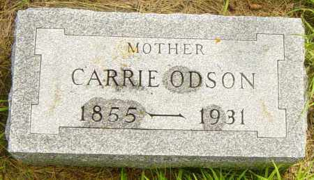 ODSON, CARRIE - Lincoln County, South Dakota | CARRIE ODSON - South Dakota Gravestone Photos