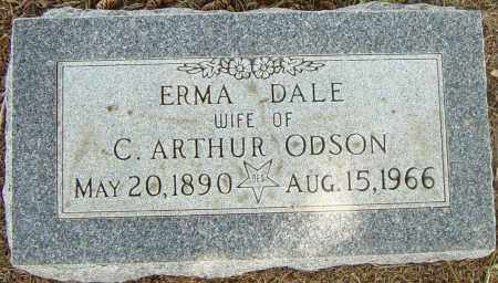 ODSON, ERMA DALE - Lincoln County, South Dakota | ERMA DALE ODSON - South Dakota Gravestone Photos