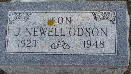 ODSON, J. NEWELL - Lincoln County, South Dakota | J. NEWELL ODSON - South Dakota Gravestone Photos
