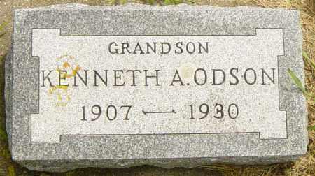 ODSON, KENNETH A - Lincoln County, South Dakota   KENNETH A ODSON - South Dakota Gravestone Photos
