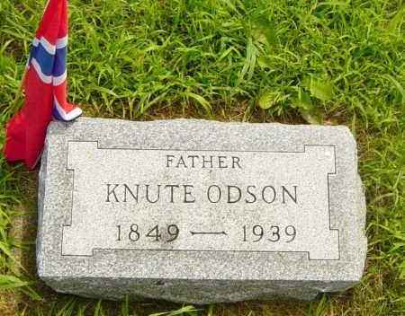 ODSON, KNUTE - Lincoln County, South Dakota | KNUTE ODSON - South Dakota Gravestone Photos