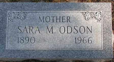 ODSON, SARA M. - Lincoln County, South Dakota | SARA M. ODSON - South Dakota Gravestone Photos
