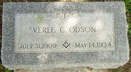 ODSON, VERLE C - Lincoln County, South Dakota   VERLE C ODSON - South Dakota Gravestone Photos