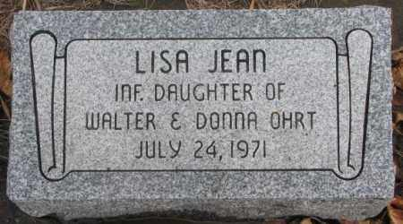 OHRT, LISA JEAN - Lincoln County, South Dakota | LISA JEAN OHRT - South Dakota Gravestone Photos