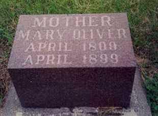 OLIVER, MARY - Lincoln County, South Dakota | MARY OLIVER - South Dakota Gravestone Photos