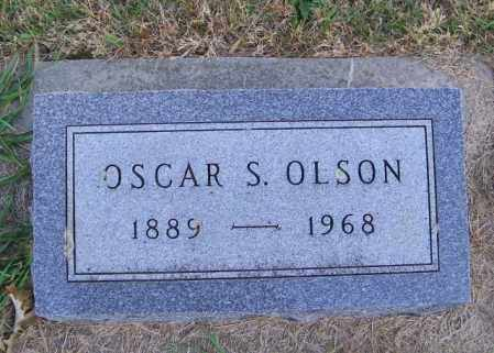 OLSON, OSCAR S. - Lincoln County, South Dakota | OSCAR S. OLSON - South Dakota Gravestone Photos