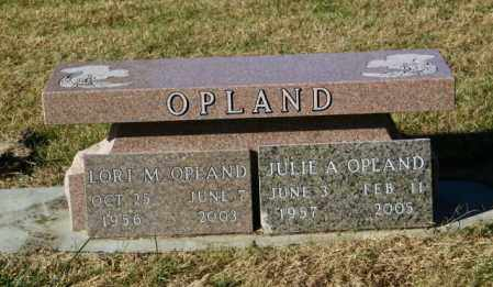 OPLAND, JULIE A. - Lincoln County, South Dakota | JULIE A. OPLAND - South Dakota Gravestone Photos
