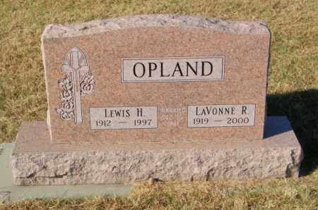 OPLAND, LEWIS H. - Lincoln County, South Dakota | LEWIS H. OPLAND - South Dakota Gravestone Photos